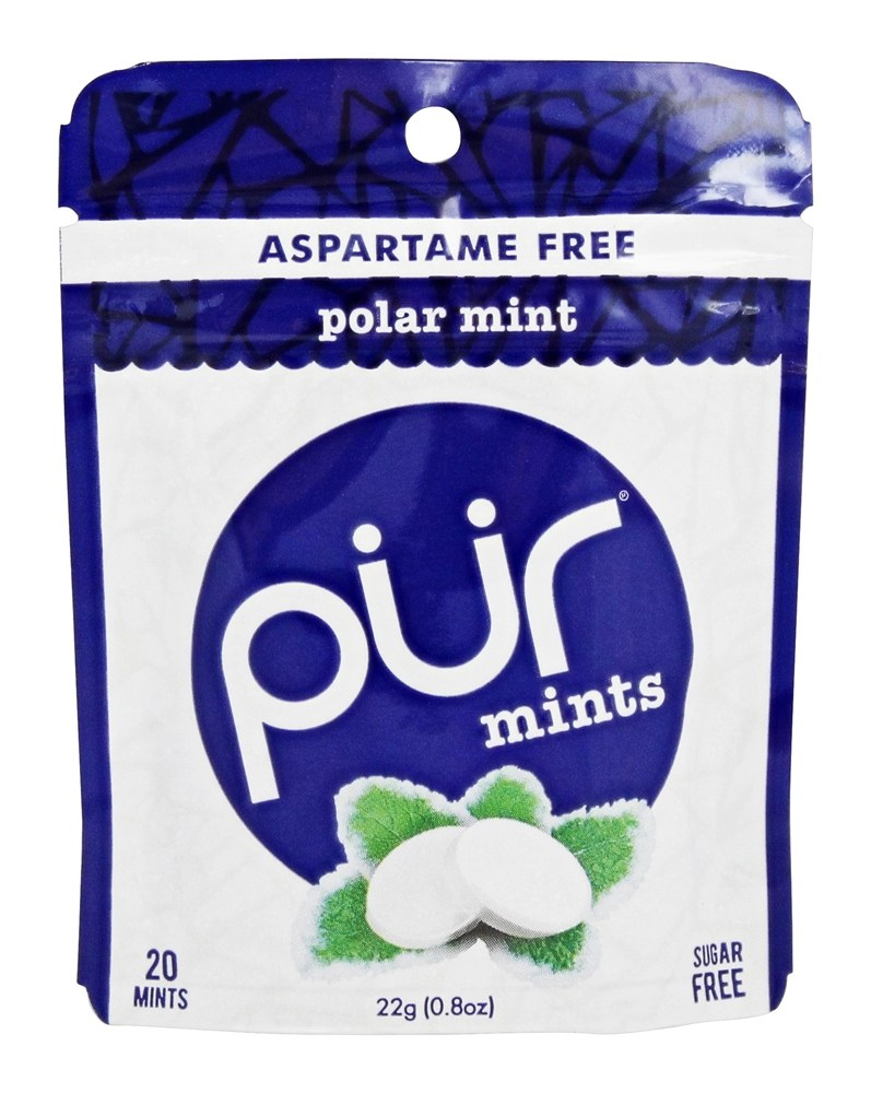 Pur Gum - Sugar Free Mints Polar Mint - 20 Mint(s)