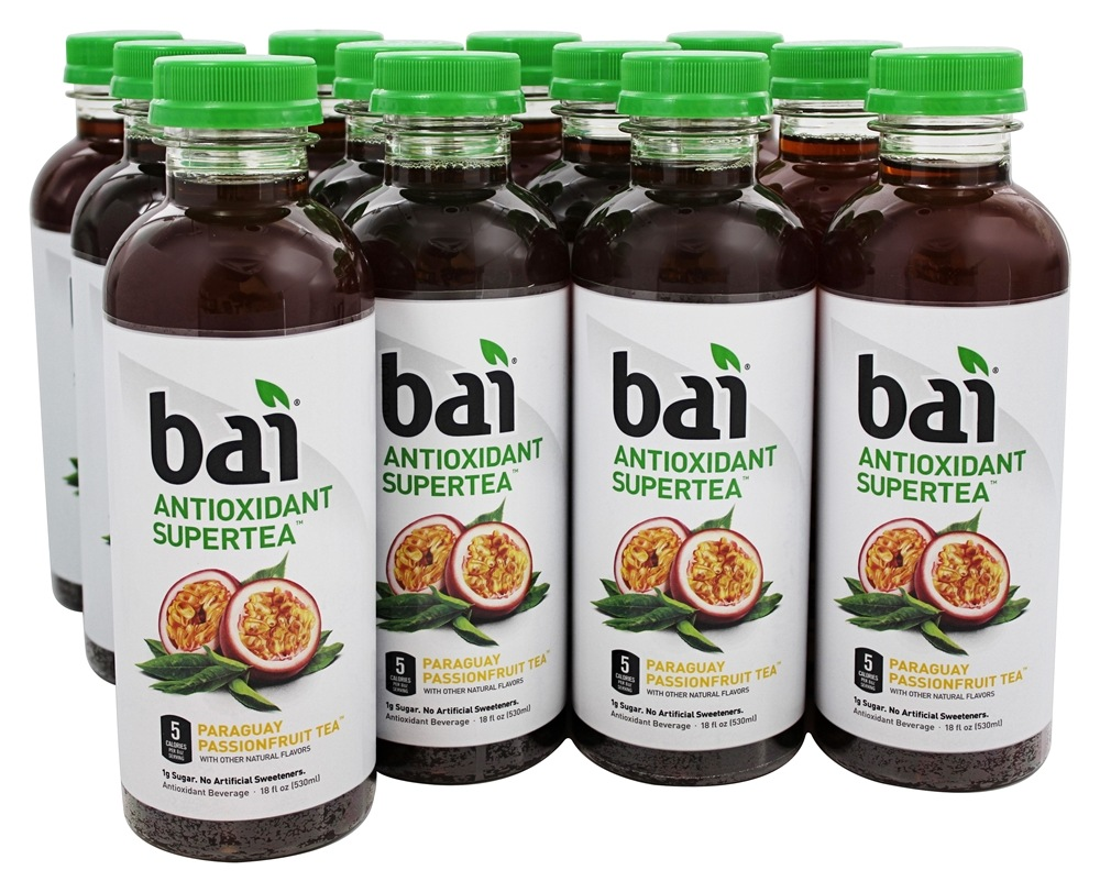 Bai - Antioxidant Infused Beverage Paraguay Passion Fruit Tea - 12 Bottle(s)