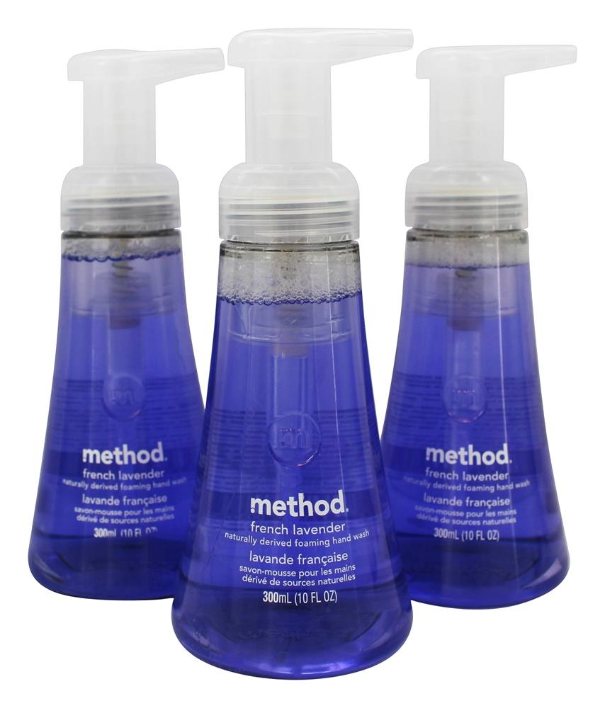 Method - Foaming Hand Wash French Lavender - 3 Pack