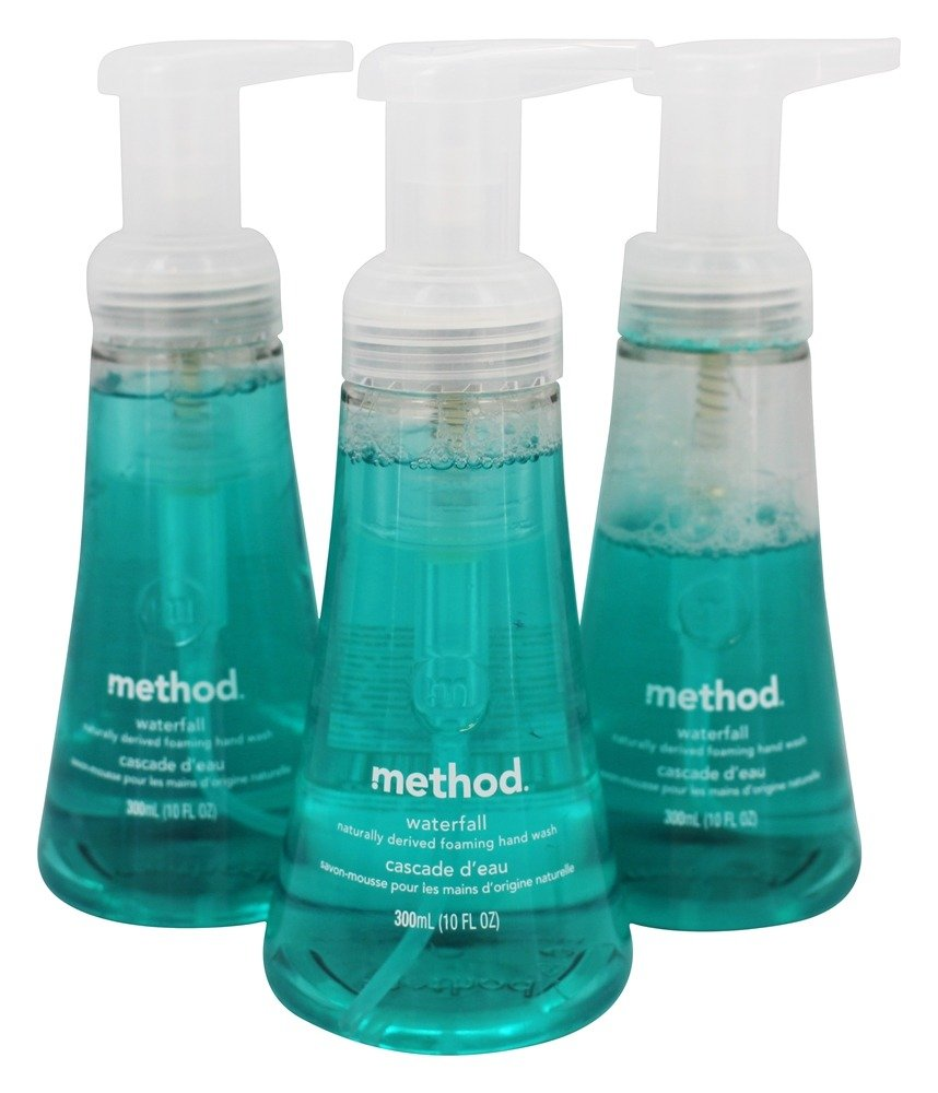 Method - Foaming Hand Wash Waterfall - 3 Pack