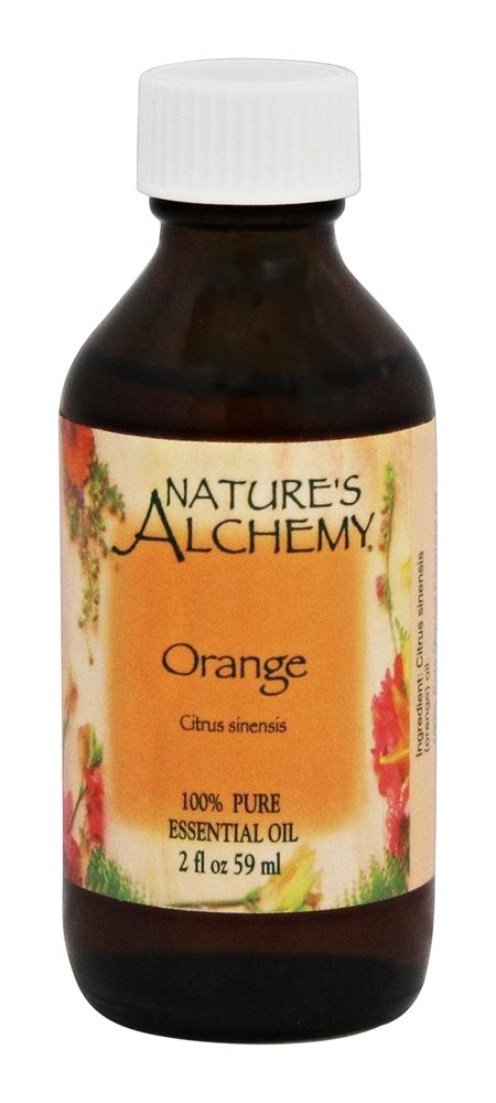 Nature's Alchemy - 100% Pure Essential Oil Orange - 2 oz.