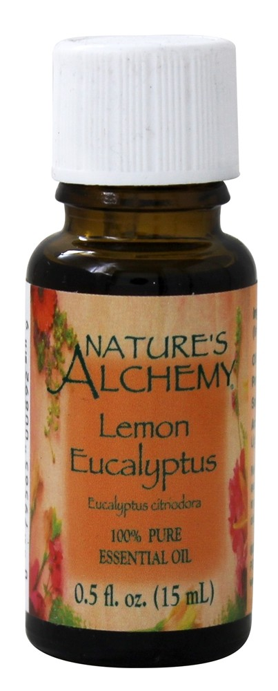 Nature's Alchemy - 100% Pure Essential Oil Lemon Eucalyptus - 0.5 oz.