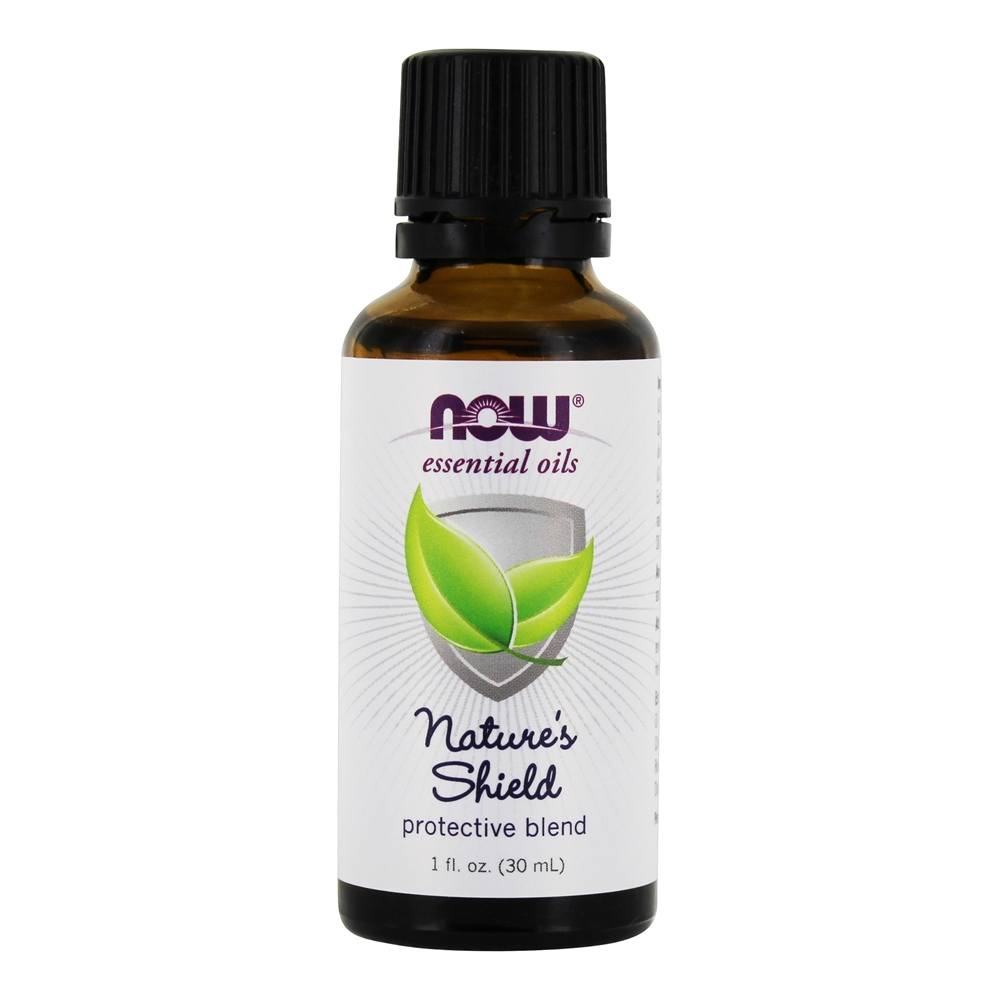 NOW Foods - Essential Oil Nature's Shield Lemon - 1 oz.