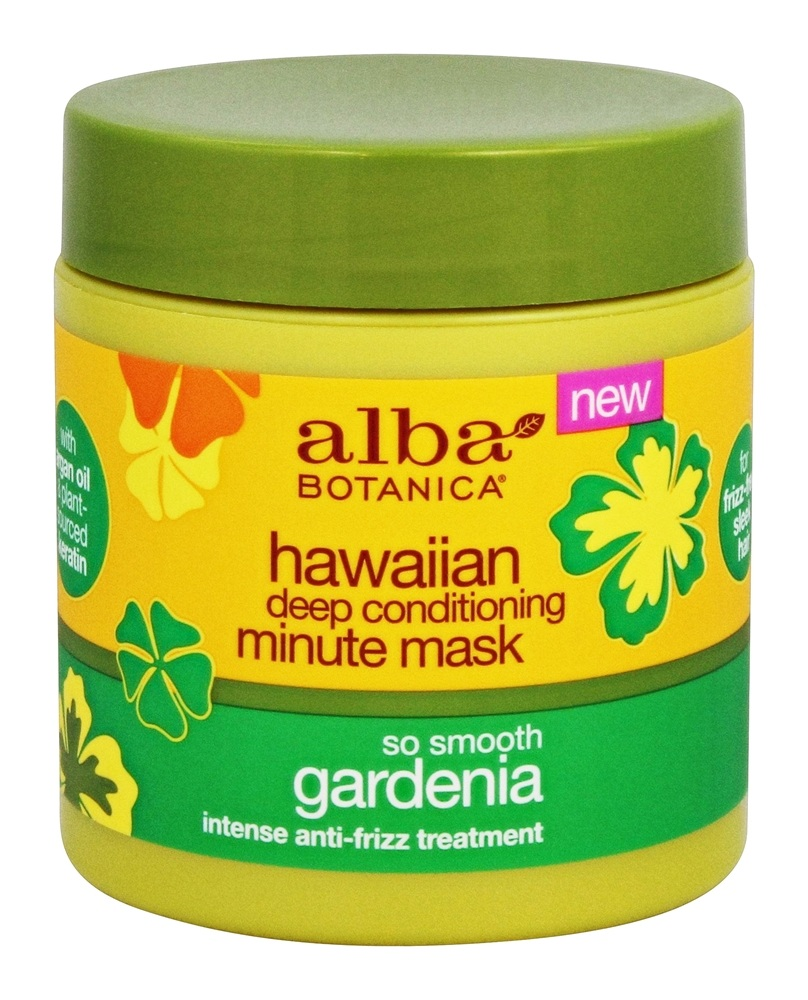 Alba Botanica - Hawaiian Deep Conditioning Minute Mask Gardenia - 5.5 oz.