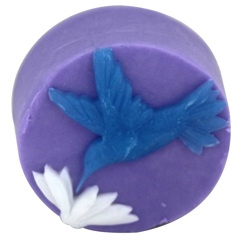 Hugo Naturals - Artisan Bar Soap Hummingbird French Lavender - 4 oz.