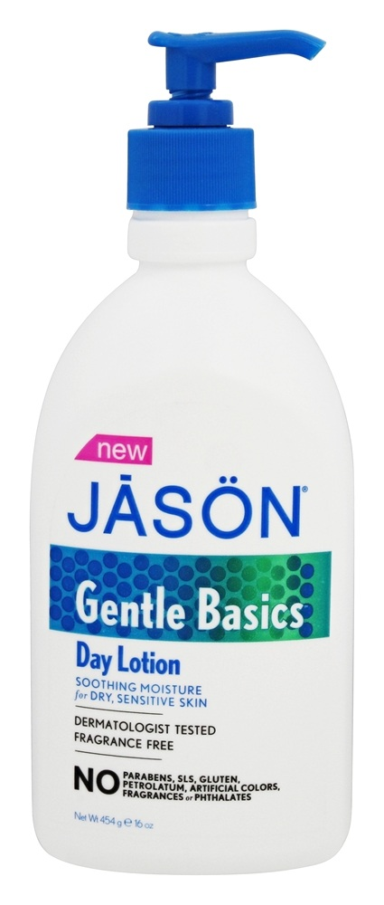 JASON Natural Products - Gentle Basics Day Lotion Fragrance Free - 16 oz.