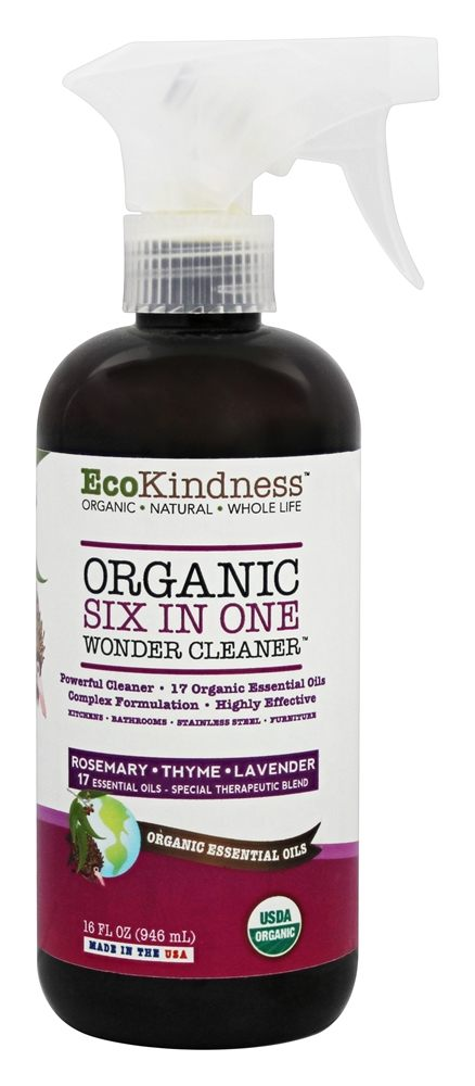 EcoKindness - Organic Six In One Wonder Cleaner - 16 oz.