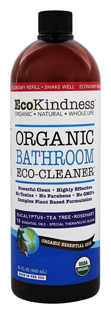 EcoKindness - Organic Toilet Eco-Cleaner - 32 oz.