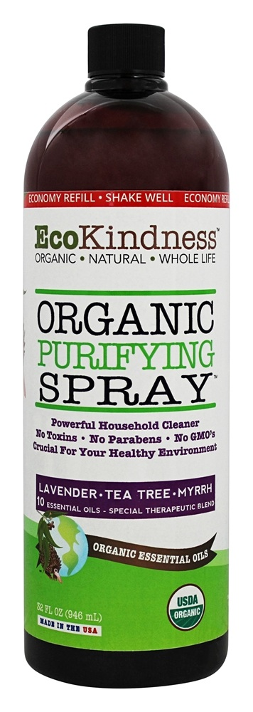 EcoKindness - Organic Purifying Spray - 32 oz.