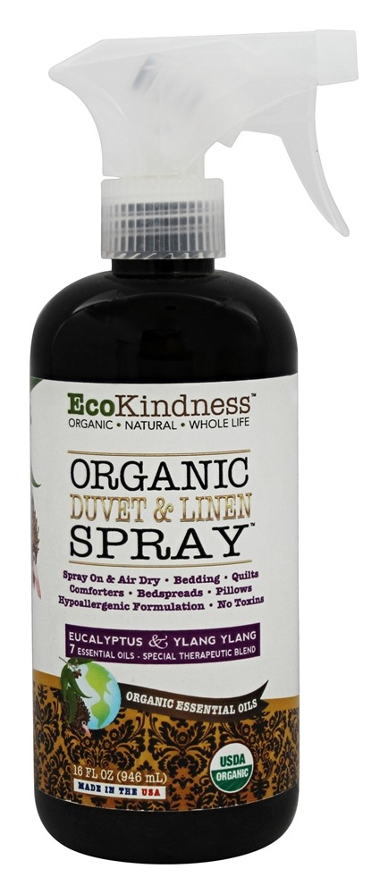EcoKindness - Organic Duvet & Linen Spray - 16 oz.