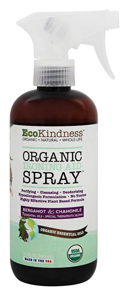 EcoKindness - Organic Ironing Aid Spray - 16 oz.