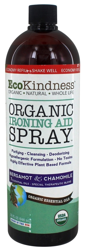 EcoKindness - Organic Ironing Aid Spray - 32 oz.