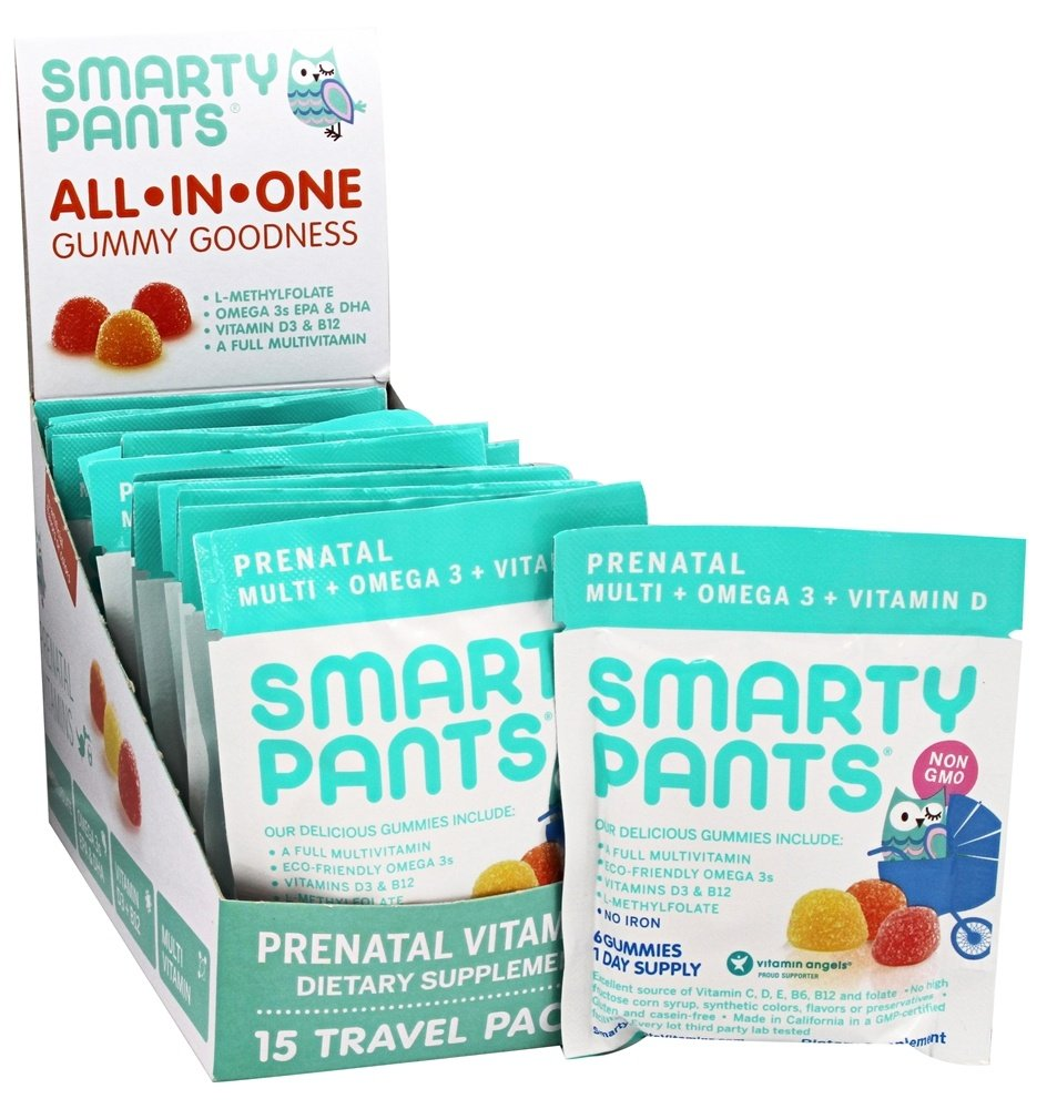 SmartyPants - All-In-One Multivitamin Prenatal Gummies - 15 Pack(s)