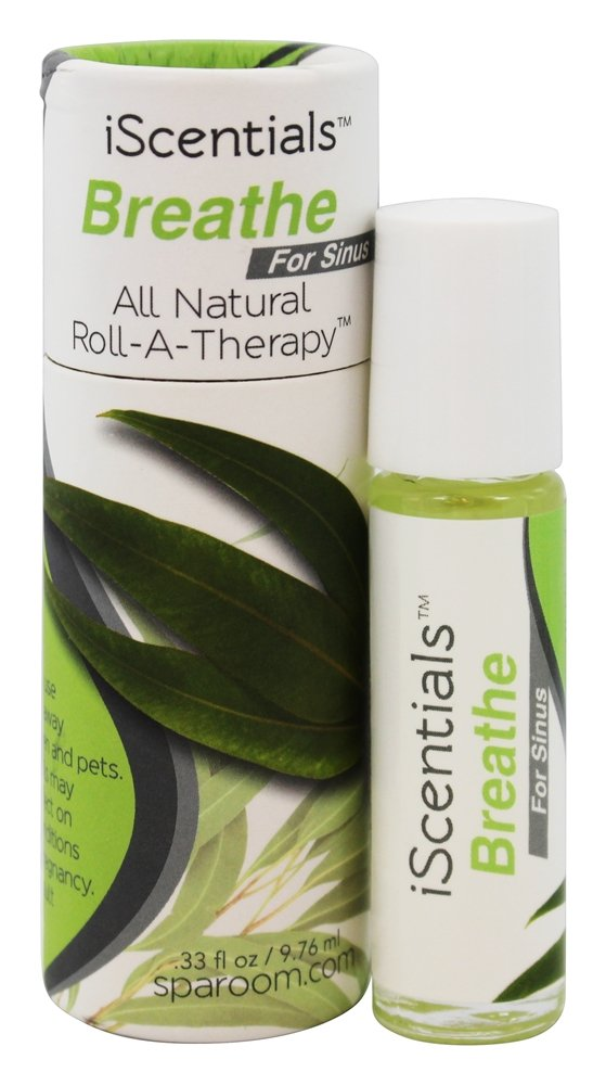 SpaRoom - iScentials All Natural Roll-A-Therapy Breathe - 0.33 oz.