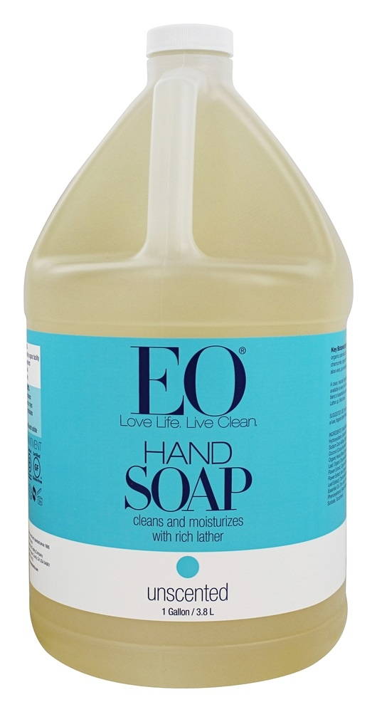 EO Products - Liquid Hand Soap Unscented - 1 Gallon