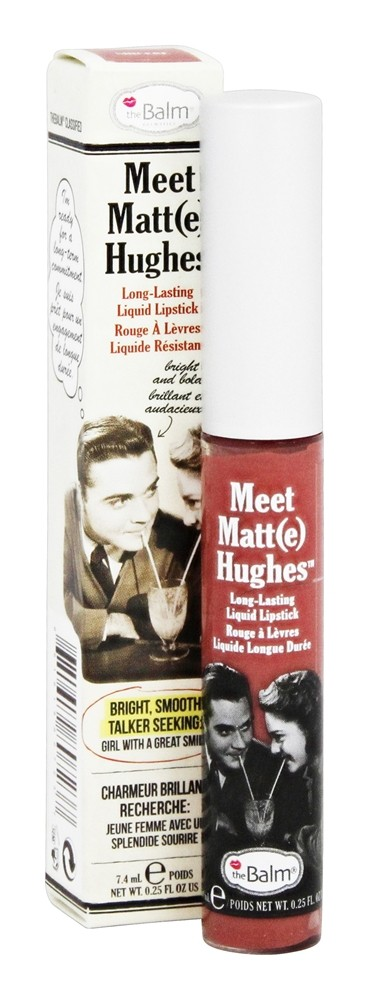 theBalm - Meet Matt(e) Hughes Long Lasting Liquid Lipstick Sincere - 0.25 oz.