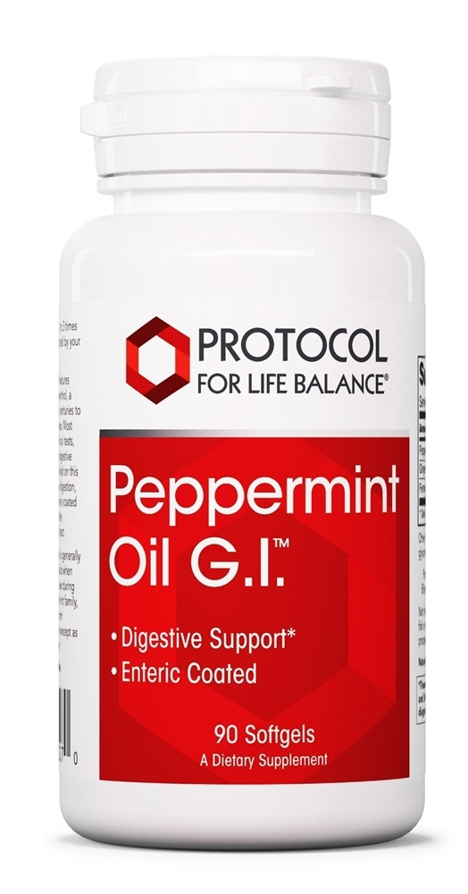 Protocol For Life Balance - Peppermint Oil G.I. - 45 Softgels