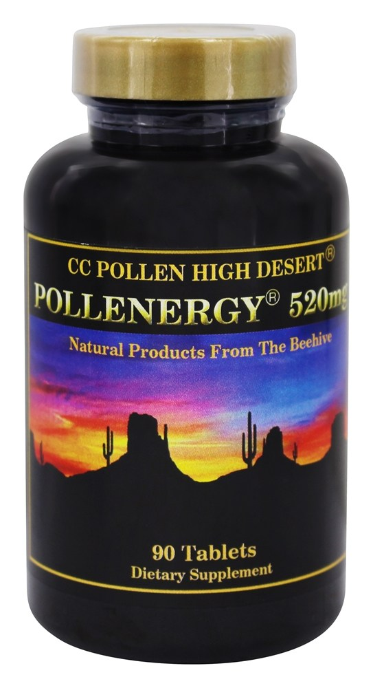 CC Pollen - High Desert Pollenergy 520 mg. - 90 Chewable Tablets