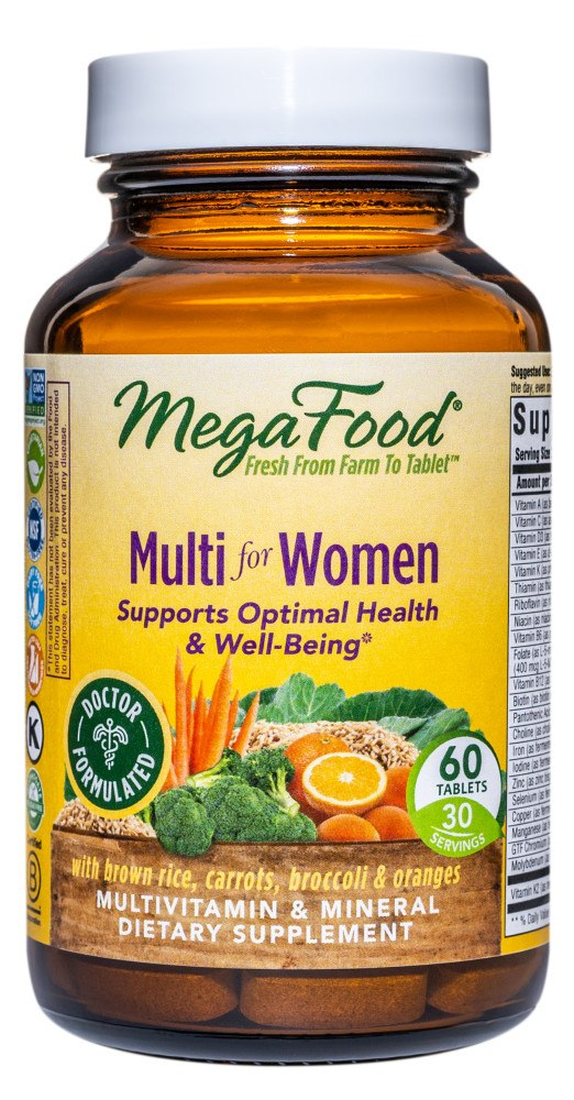 MegaFood - Multi for Women - 60 Tablets