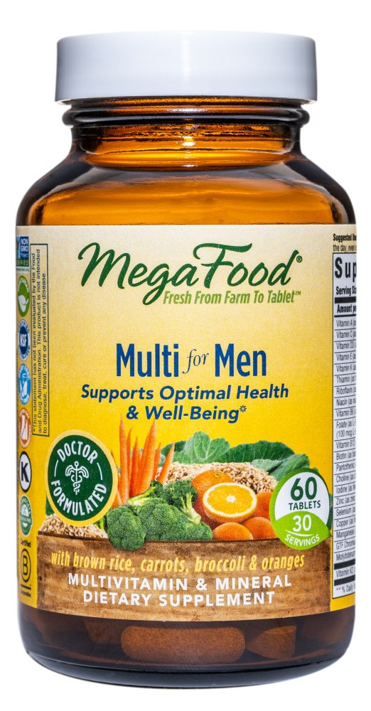 MegaFood - Multi for Men - 60 Tablets