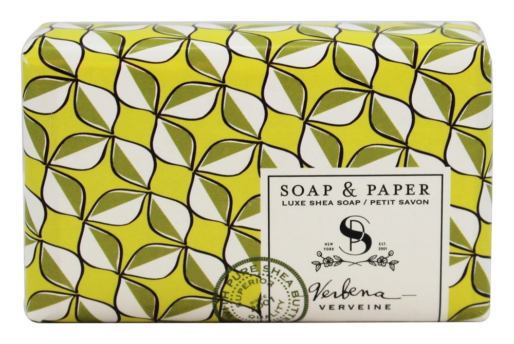 Soap & Paper - Shea Butter Bar Soap Verbena - 3 oz.