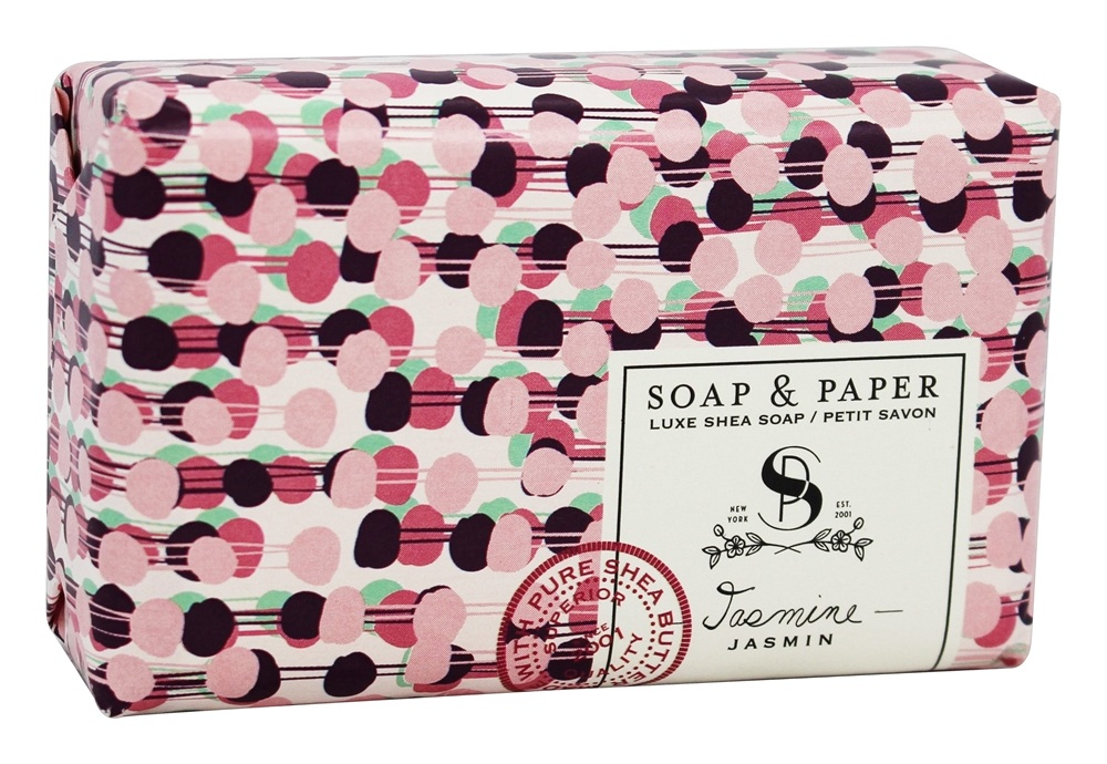 Soap & Paper - Shea Butter Bar Soap Jasmine - 3 oz.