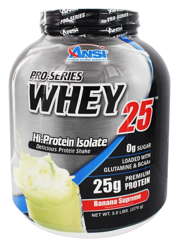 ANSI (Advanced Nutrient Science) - Pro-Series Whey 25 Banana Supreme - 5 lbs.