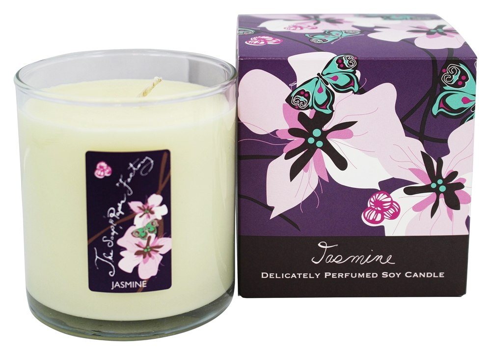 Soap & Paper - Delicately Perfumed Soy Candle Jasmine - 9.5 oz.