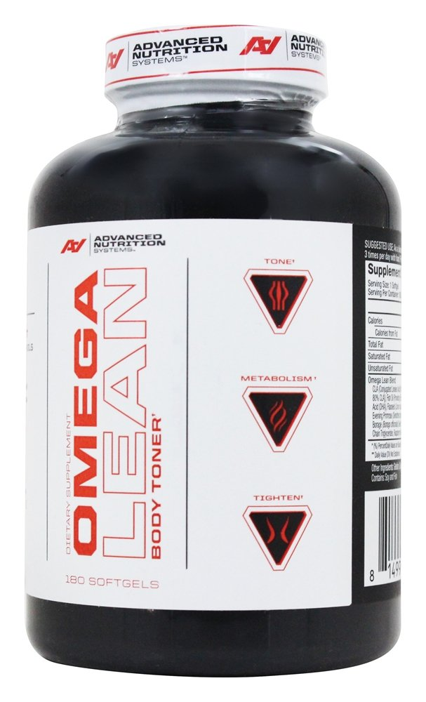 ANS (Advanced Nutrition Systems) - Omega Lean Body Toner - 180 Softgels