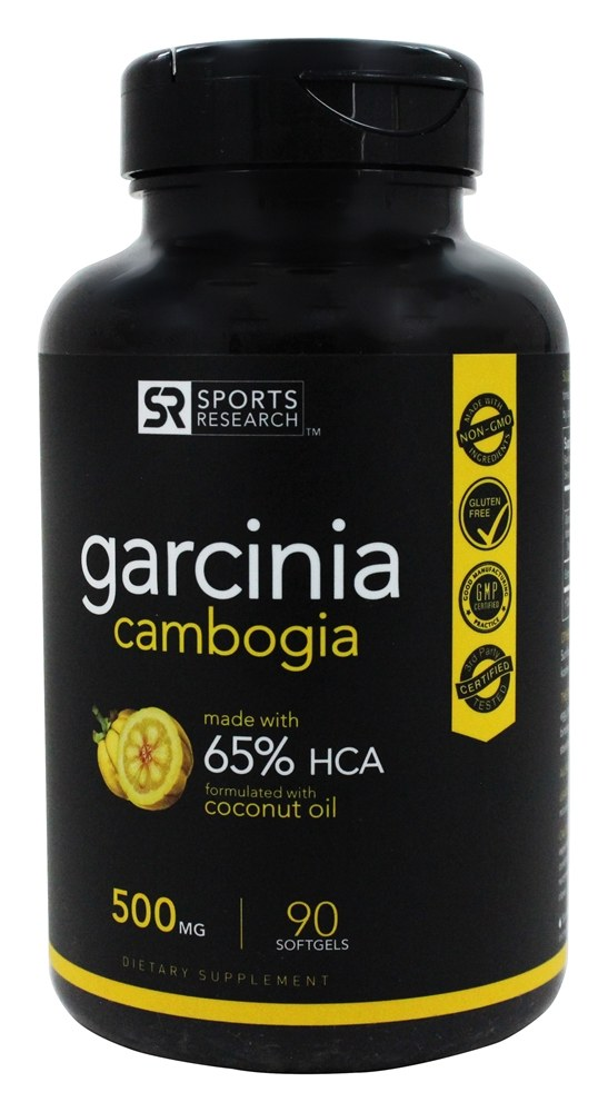 Sports Research Corp - Garcinia Cambogia 500 mg. - 90 Softgels
