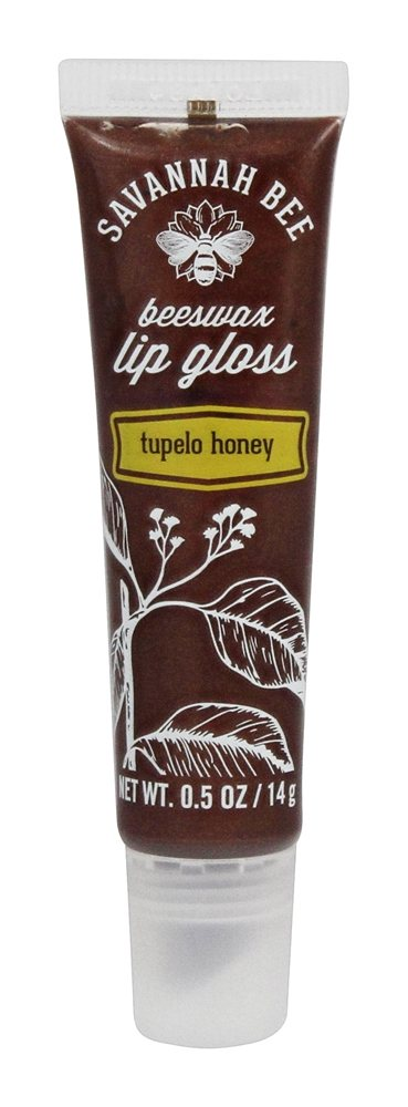 Savannah Bee - Beeswax Lip Gloss Tupelo Honey - 0.5 oz.