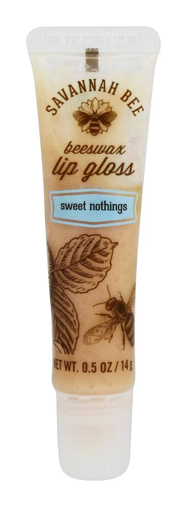 Savannah Bee - Beeswax Lip Gloss Sweet Nothings - 0.5 oz.
