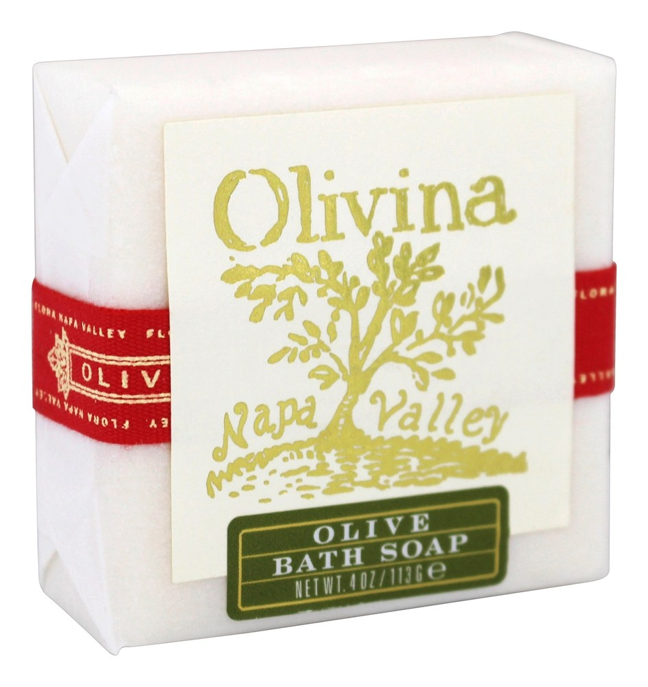 Olivina - Bath Bar Soap Olive - 4 oz.