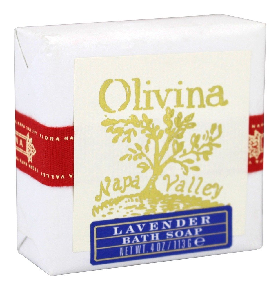 Olivina - Bath Bar Soap Lavender - 4 oz.