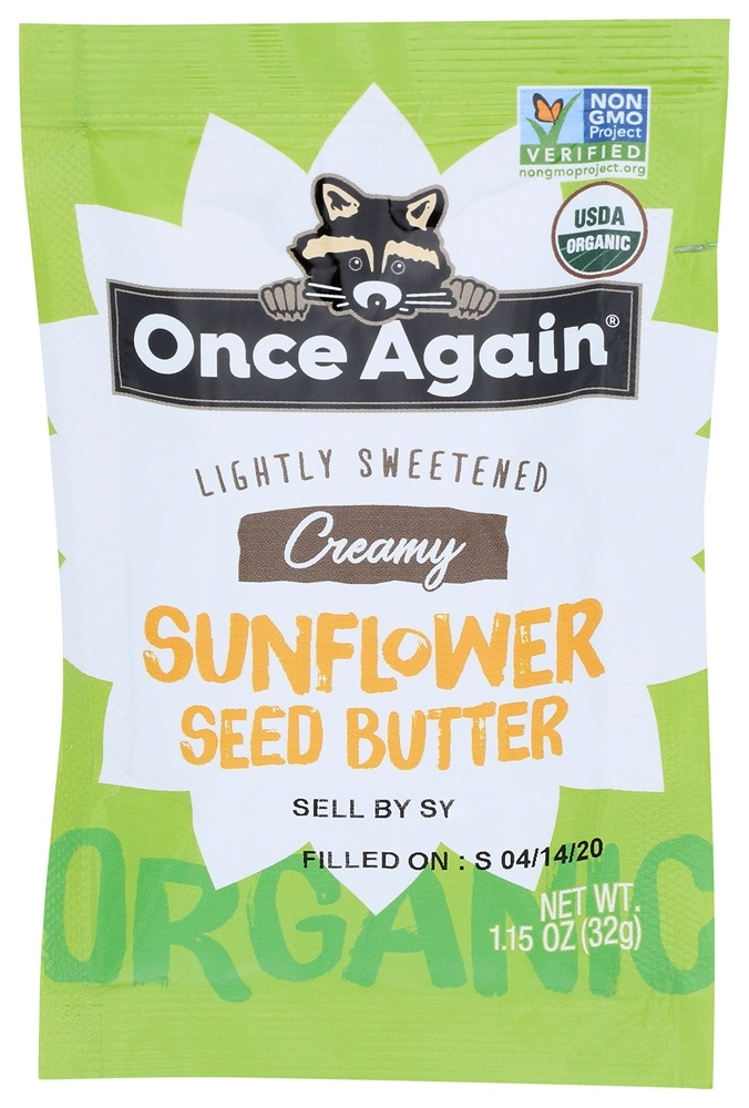 Once Again - Organic Sunflower Butter - 1.15 oz.