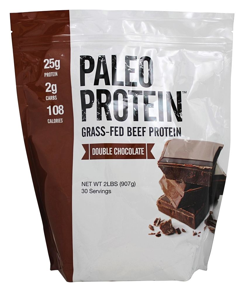 Julian Bakery - Paleo Protein Grass-Fed Beef Protein Double Chocolate - 2 lbs.