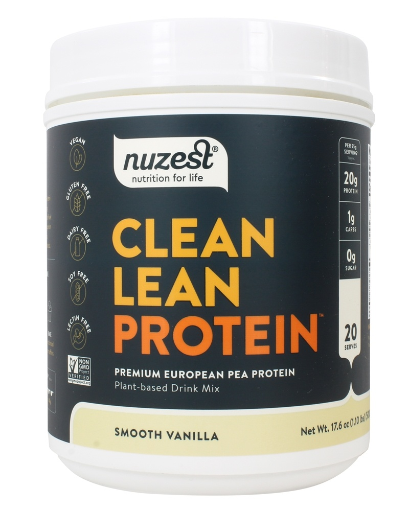 Nuzest - Clean Lean Protein Smooth Vanilla - 17.6 oz.