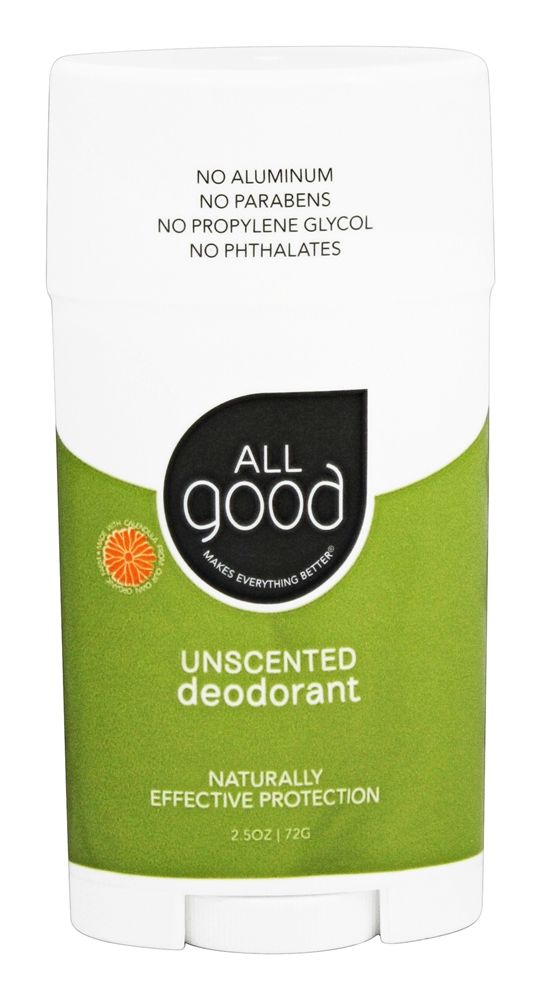 Elemental Herbs - All Good Deodorant Unscented - 2.5 oz.