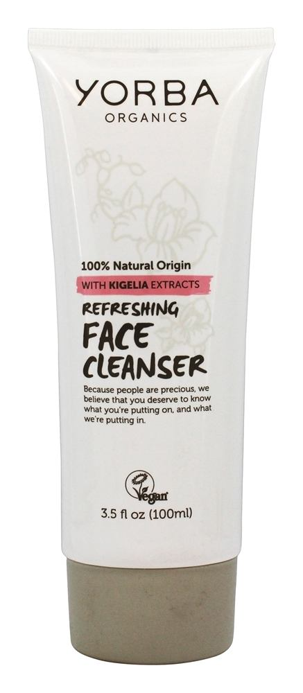 Yorba Organics - Refreshing Face Cleanser with Kigelia Extracts - 3.5 oz.