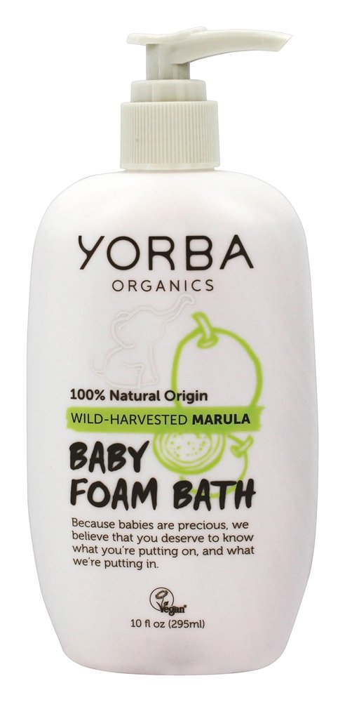 Yorba Organics - Baby Foam Bath with Wild-Harvested Marula - 10 oz.