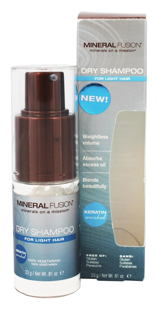 Mineral Fusion - Dry Shampoo for Light Hair - 0.81 oz.