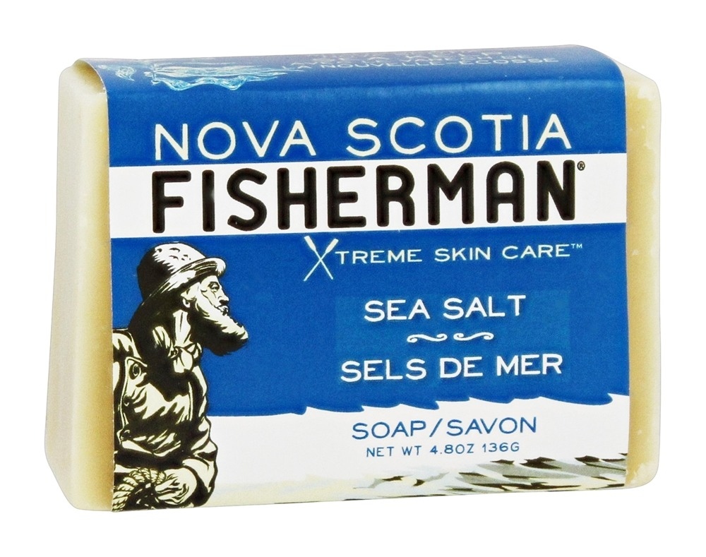 Nova Scotia Fisherman - Sea Salt Bar Soap - 4.8 oz.