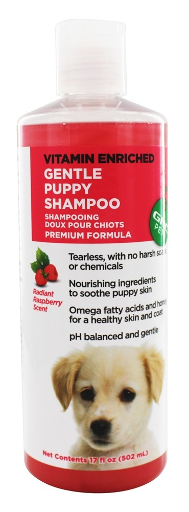 GNC Pets - Vitamin Enriched Gentle Puppy Shampoo Raspberry Scent - 17 oz.