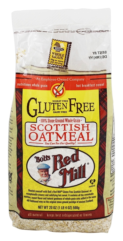 Bob's Red Mill - Gluten Free Scottish Oatmeal - 20 oz.