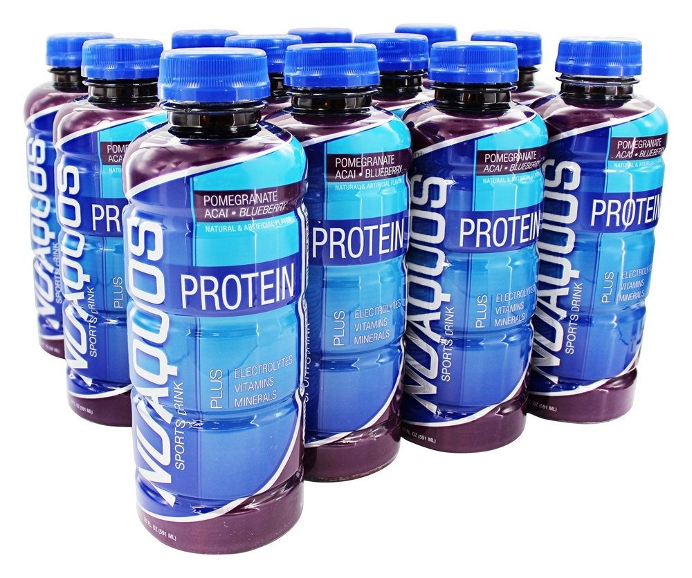 New Whey - Nuaquos Protein Sports Drink Pomegranate Blueberry - 12 Bottle(s)
