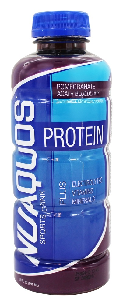 New Whey - Nuaquos Protein Sports Drink Pomegranate Blueberry - 20 oz.