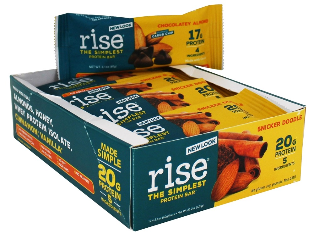 Rise Foods - Rise Protein Bar Snicker Doodle - 12 Bars