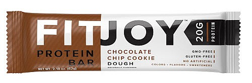 FitJoy Nutrition - Protein Bar Chocolate Chip Cookie Dough - 2.18 oz.