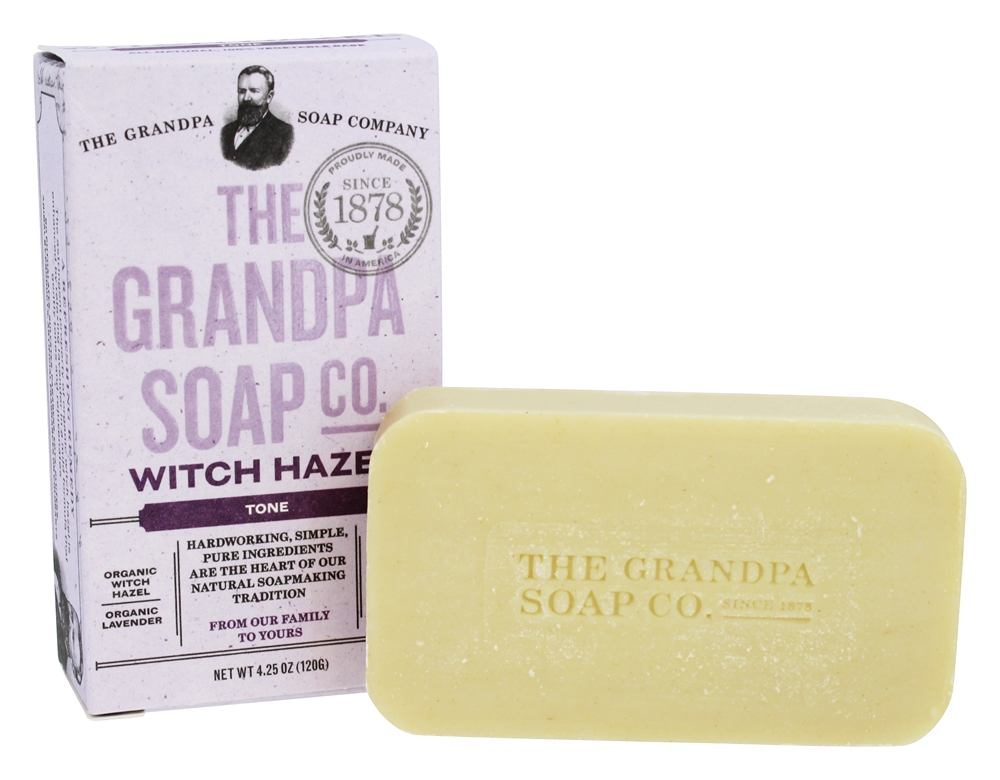 Grandpa's Soap Co. - Face & Body Bar Soap Witch Hazel - 4.25 oz.