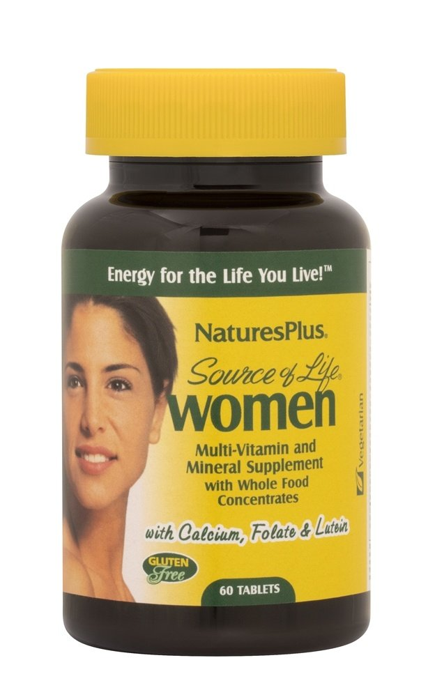 Nature's Plus - Source Of Life Women's Multi-Vitamin - 60 Tablets